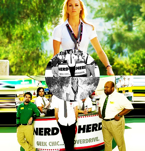 moonylupins:         ABC's of Chuck   N ⇒  Nerd Herd