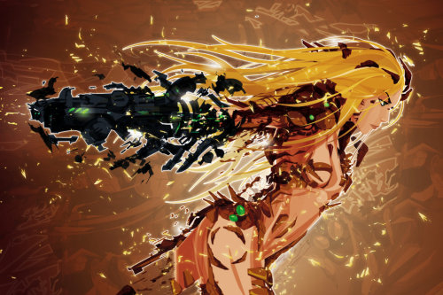 svalts:   Samus // by Justin Currie