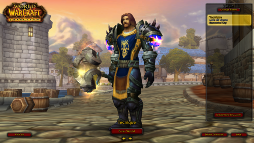 I kept this secret… I play World of Warcraft. DUN DUN DUN!!!!!
