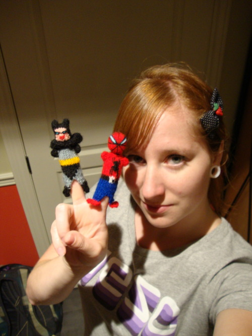 got some kick-ass finger puppets today… looks kinda naughty..
