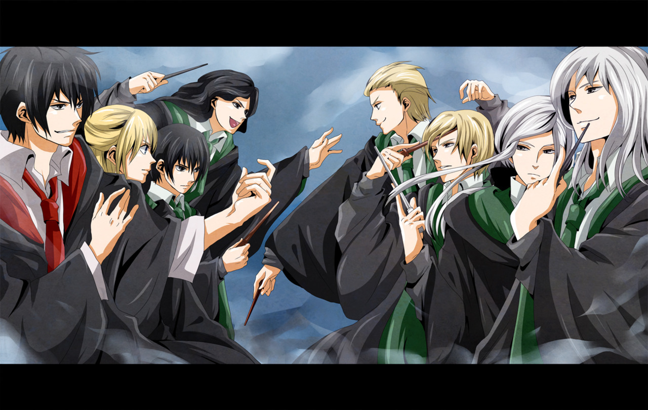 The Black and the Malfoy Men XD