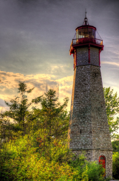Gibraltar Point Lighthouse (Toronto Island) Photographic Style: HDR Date Taken: 30/07/2011 6:41 PM Camera Model: Nikon D7000 F-Stop: f5.3 Exposure Time: 1/12500 sec ISO Speed: ISO 800 Focal Length: 45mm Lens: AF-S DX NIKKOR 18-55mm f/3.5-5.6G VR