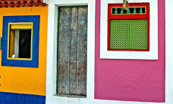 old door and new colors wall by Zé Eduardo… on Flickr.