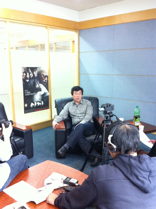 Behind the scenes with 'Moss' director Kang Woo-Suk.