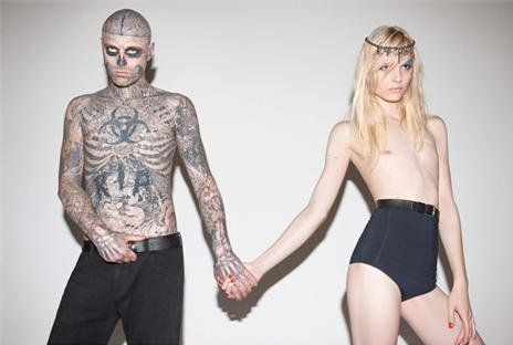 Rico Genest and Andrej Pejic for Auslander