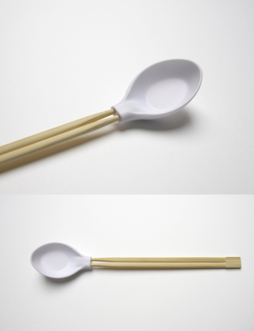 szymon:  spoonplus - when a spoon met chopsticks - by Aïssa Logerot