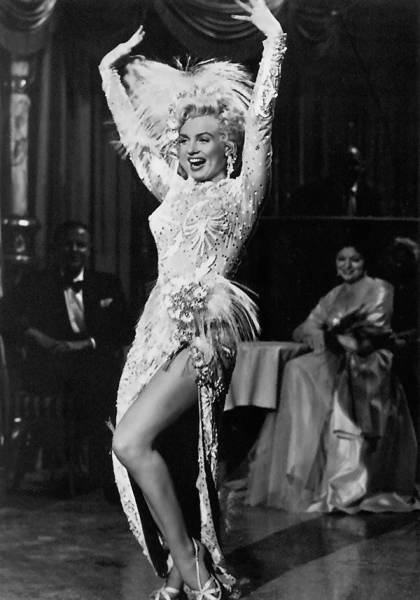 "Marilyn Monroe in There's no business like show business performing ""After you get what you want"""