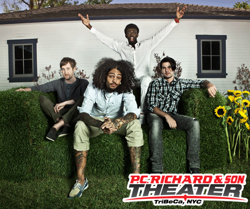 "Performance Announcement! Gym Class Heroes will be at the P.C. Richard & Son Theater on September 7th performing for just 200 fans. Want to be there to watch them perform their hit single, ""Stereo Hearts,"" plus more from their forthcoming album, The Paper? The only way in is to win tickets! Enter for a chance to win now at http://rewards.pcrichardtheater.com/asp3/ContestDetail.aspx?AID=154017. Enter code TMGCH here for 500 points (an extra entry) on the website!"