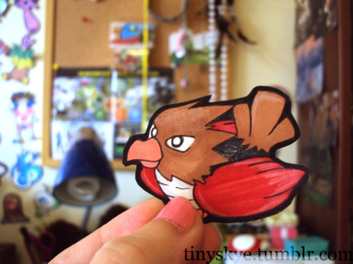 Unlike Pidgey, Spearow has a terrible attitude. It is very wild and will sometimes attack other Pokémon and humans. Buy me Here
