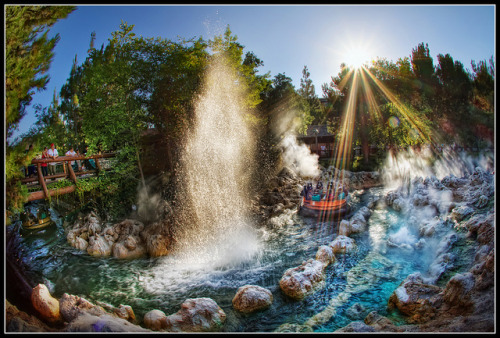 Golden Geyser - Disney California Adventure Park by Gregg Cooper