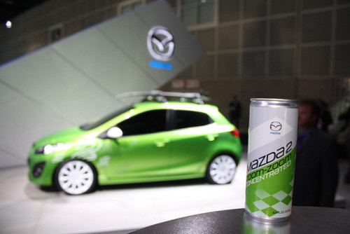 2011 Mazda2 reveal by Autobahning.com on Flickr.#mazda2sday