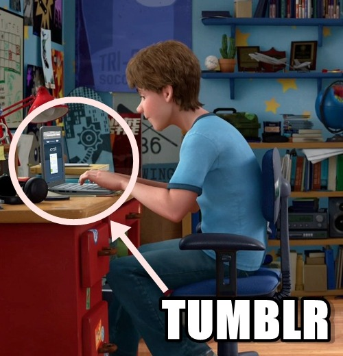 epicallyfunny:  Toy Story knows their sh*t. Pixar knows  my mind is B L O W N. Feeling down and depressed? Cheer up with this funny blog!  Actually, I think that was photoshoppedhttp://i0.wp.com/screencaps.us/201/0-toy-story3/full/toy-story3-disneyscreencaps.com-1423.jpg