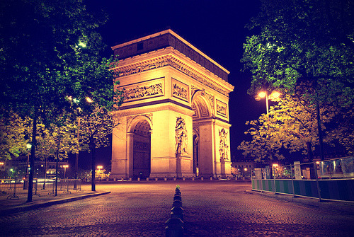 Arc de Triomphe, Paris (by Allard One)