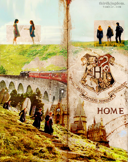 thirdkingdom:  Hogwarts = HOME
