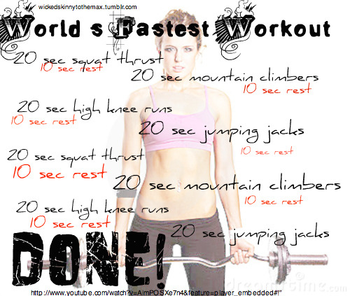 amys40poundchallenge:  Just did this workout! Oh my gosh, it hurts so good. I actually kind of think mountain climbers are fun. Am I the only one?