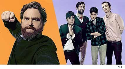 The Zach Galifianakis & Vampire Weekend team was a beautiful combination on SNL. This episode was practically made for the indie crowd.