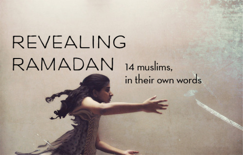 "newshour:    Interesting project from On Being. (and Happy Ramadan! ^TG)  beingblog:  The Triumph of Ramadan: The Many Stories and Many Faces of Muslim Identity by Trent Gilliss, senior editor  Two years ago I had the privilege of interviewing three dozen people for an online project we were calling ""Expressions of Muslim Identity."" It was a single phrase that sparked this initiative: ""the Muslim world."" This three-word bit of shorthand was — and still is — being used by television reporters and newspaper columnists, bloggers and foreign correspondents, and it was even creeping into drafts of our production scripts.  But how could this phrase possibly be applied to more than a billion Muslims living in all cultures and segments of society — from Indonesia to Saudi Arabia, from Turkey to the United States and Canada? When we journalists repeatedly employ this phrase into our scripts and our copy, how do we homogenize this diverse group of people and create a monolithic bloc with erased faces?   So we aimed to change the conversation — for ourselves and for our audiences — by directly appealing to Muslims. We asked them to respond to these questions:  What does ""being Muslim"" mean to you? What do you find beautiful about Islam? How does it find expression in your daily life? What hopes, questions, and concerns are on your mind as you ponder the future of your tradition? We received hundreds of eloquent responses and selected more than 30 people to interview. What was meant to be an online-only project quickly morphed into a radio an podcast production. Our intent was to craft one hour of radio to be called ""Living Islam,"" but, once we started listening to all these voices, we realized that almost every Muslim offered an unsolicited story about Ramadan.  With all these wonderful memories of fasting and prayer and family, we decided to create a second hour of radio featuring the voices of 14 Muslims. Even then, we were still discarding more than double that number of poignant stories about Ramadan, so we created a special podcast that was promoted by iTunes: 30 voices in 30 days, one voice for each day of Ramadan. ""Revealing Ramadan"" was the result, and I couldn't be prouder.  Give it a listen and share with your friends. Whether you know a little or a lot about this holiest month, you'll be moved and reminded of the distinct character of the many Muslims who observe Ramadan. They will delight and surprise you, and paint a self-portrait of what it means to be Muslim in their own words.  About the image: Mushda Ali, a young Bangladeshi Muslim artist, posted this self portrait on Flickr with this line from Flavia Weedn: ""If one dream should fall and break into a thousand pieces, never be afraid to pick one of those pieces up and begin again.""  Beautiful!"