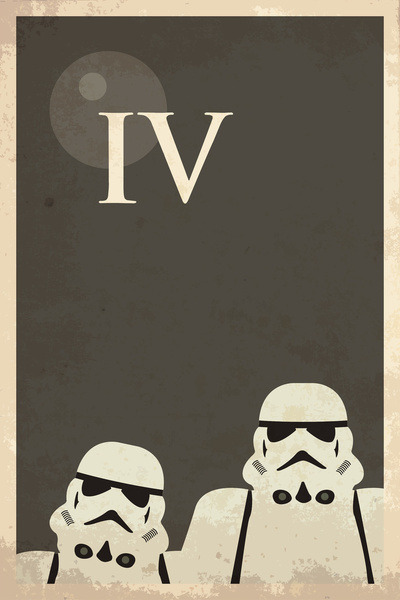 (via Star Wars Minimal Movie Poster Art Print by Malc Foy | Society6)  Would appreciate any clicks on the 'promote' button on the Society6 page (click the photo)