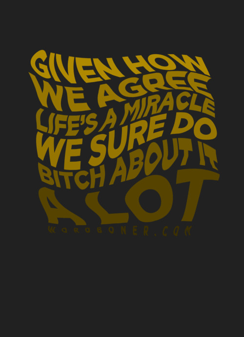 wordboner:  Miracle '11 (available on a tee until 08/09 or make your own ___ with this design)  more: store | blog | make your own wordboner store | twitter | facebook | coupons | follow wordboner   ain't it the truth