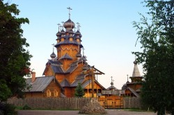 Ancient Wooden Church, Eastern Ukraine