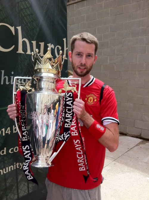What's the sickest achievement for an EPL fan? Raise the Barclays Premier League Trophy rockin' a sick kit. Congrats to Matt from KC (above) on living the dream in his new 11-12 Manchester United Home Kit by Nike. Buy it here. From the editor: We know what you are thinking… Where the hell has Sick Kits been? A fair question… We will not apologize, we will only shower you with fresh sick kits.