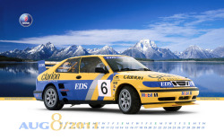 SAAB 9-3 Rallycross August 2011 Calendar More resolutions available here: http://www.classiccarprint.com/11-Cal-Html/Saab-Cal-Aug.html