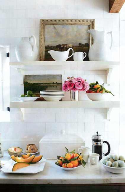goingtomakeitmine: thedecorista Perfect breakfast bar for Sunday brunch.