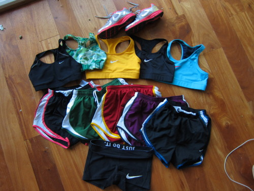 sweatsalty:  My Nike collection!