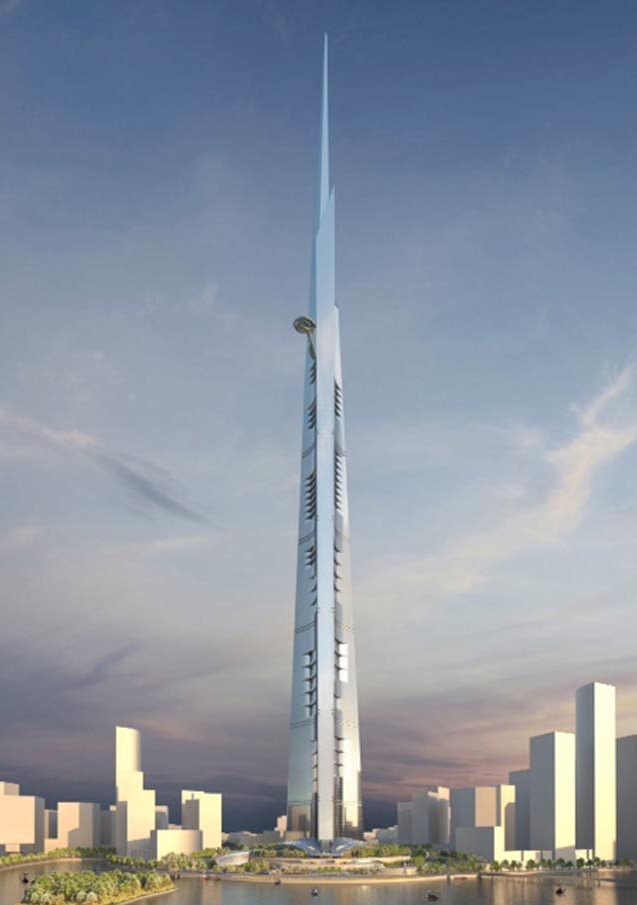 The worlds (soon to be) tallest building.