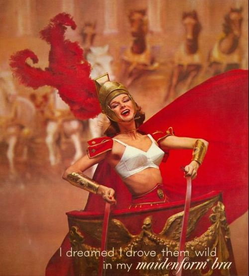 lucybird:  Vintage Maidenform Bra ads…. if you liked that, click the picture or here for more ;)