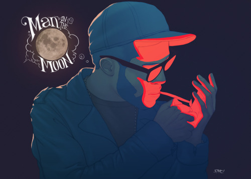 vainaspaver:  kid cudi Mr. Rager by `pacman23 on deviantART