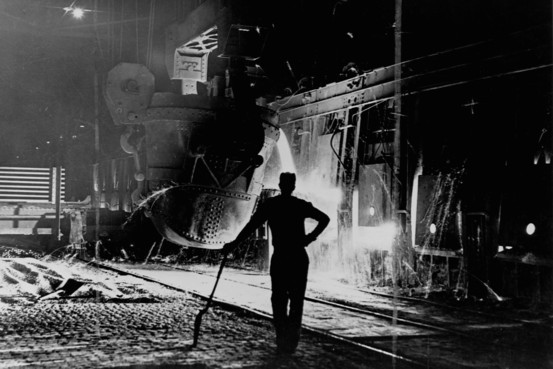 Youngstown Steel Mill 1953