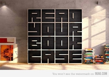 Awesome Bookcase! Me Wantz! =D