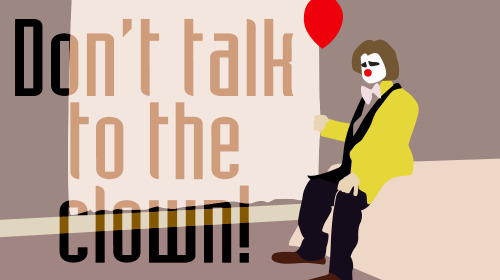 series60s:  Don't Talk to the Clown!