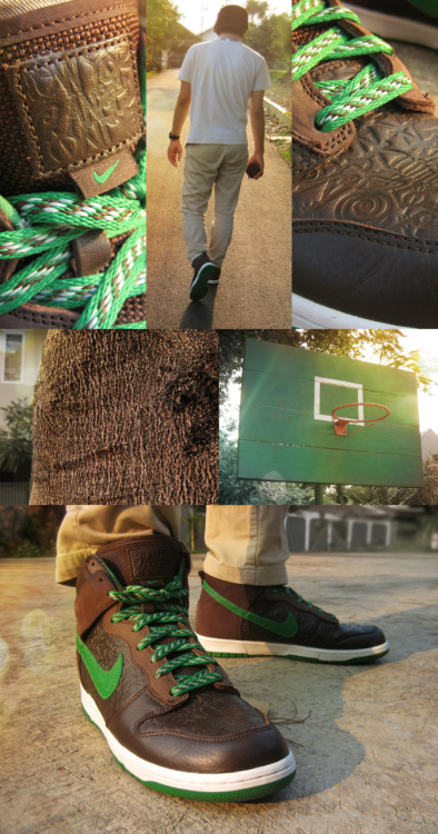 ivictus tee / g shock / satcash chinos / nike dunk hi world tour london