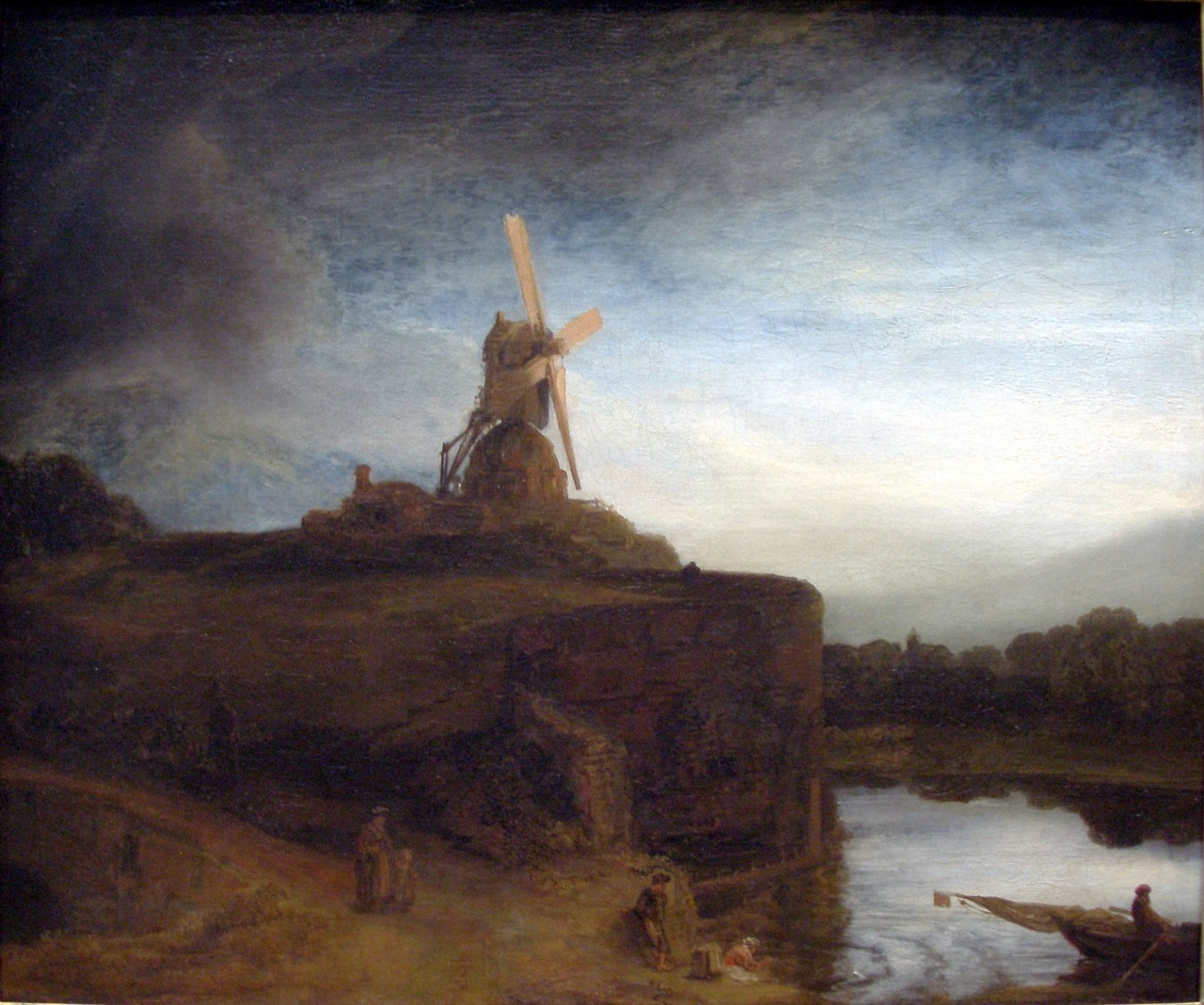 The Mill, 1648 | Rembrandt