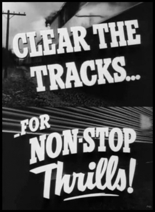 the-asphalt-jungle:  The Narrow Margin -Trailer titles (1952)