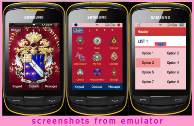 Alpha Phi Omega Theme-Download Samsung Corby 2 Themes for free at http://choozhang.blogspot.com/2011/07/samsung-corby-2-or-s3850-alpha-phi.html