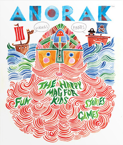 magazinewall:  Anorak (UK)