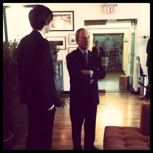 Giving Bloomberg a tour of Tumblr