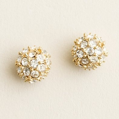 crystal starlet earrings - #jcrew $35