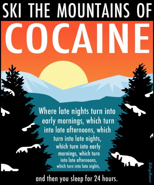 7 Vacation Posters for Drugs