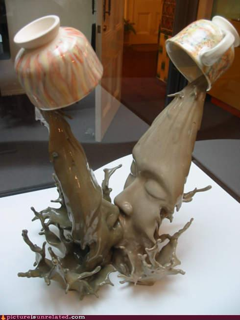 Kissing Coffee by: Tsang Cheung Shing