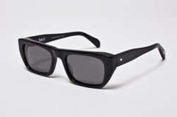 Necessity: Salt's Vance Black sunglasses at Saturdays Surf NYC