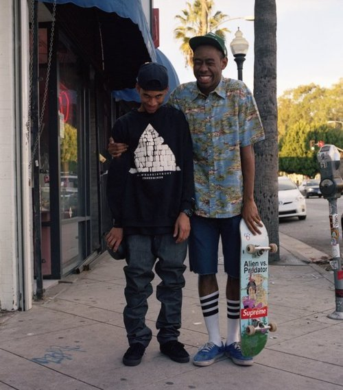 Tyler, The Creator x Hodgy Beats