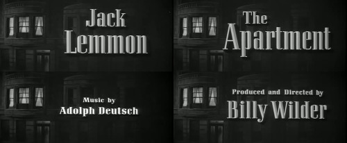 The Apartment (Billy Wilder - 1960)