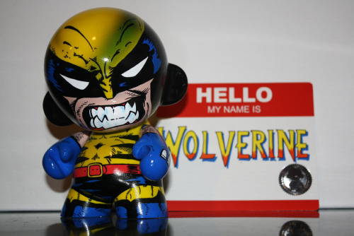 Custom Painted Wolverine Munny - by The-other-guy