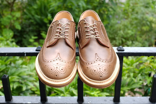 Alden for Epaulet Natural Chromexcel Longwings. Back in stock!