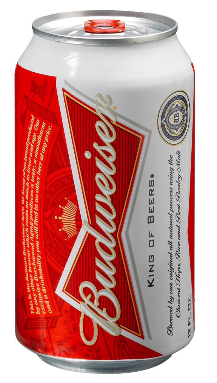 This redesign's for you • Budweiser unveiled a new look for its Budweiser cans today — just the 12th time in the flagship beer brand's history that the brewer has tinkered with its appearance. Labels on Budweiser glass bottles will not change. In addition to more red, the new can also features a QR code.