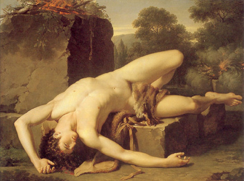 necspenecmetu:  Francois-Xavier Fabre, The Death of Abel, 1790  Lovely